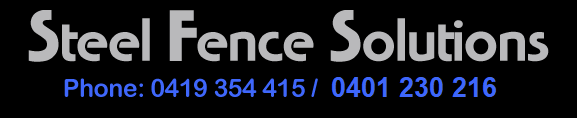 Steel Fence Solutions
